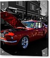 Shelby Gt 500 Mustang Acrylic Print