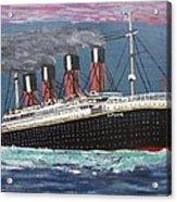 Ship Of Dreams Acrylic Print