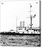 Ships Hms 'victoria Acrylic Print