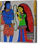 Shiv Parvati Acrylic Print