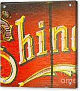 Shoe Shine Kit Acrylic Print