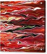 Showpiece Waves Acrylic Print