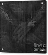 Shroud Of Turin- Jesus' Hands Acrylic Print