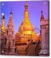 Shwedagon Paya - Yangoon Acrylic Print