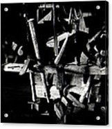 Sid Wilson's Tools For Building Stagecoaches Pick 'em Up Ranch Tombstone Arizona 1979 Acrylic Print