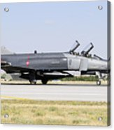 Side View Of A Turkish Air Force Acrylic Print