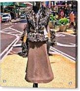 Sidewalk Catwalk 12 Acrylic Print