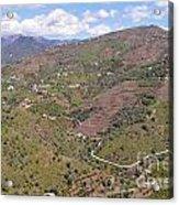 Sierra De Almijara Hills Acrylic Print