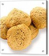 Simple Homemade Cookies Acrylic Print