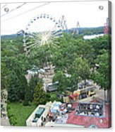 Six Flags Great Adventure - 12125 Acrylic Print