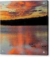 Skilak Lake, Alaska, The Aleutian Acrylic Print