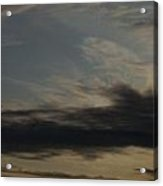Sky Painting Acrylic Print