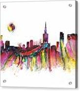 Skyline Warsaw Acrylic Print