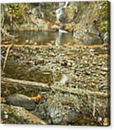 Smalls Falls In Autumn Western Maine Acrylic Print