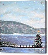 Smith Mountain Lake Christmas Acrylic Print
