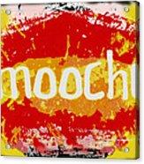 Smooches Acrylic Print