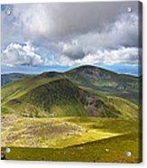 Snowdonia Panorama Acrylic Print by Jane Rix