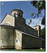 Sopocani Monastery Acrylic Print