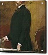 Sorolla, Joaqu�n 1863-1923. Portrait Acrylic Print by Everett