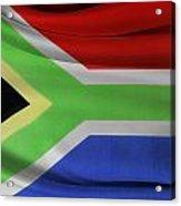 South African Flag  Acrylic Print