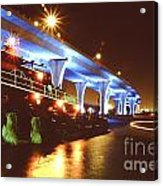 South Beach Bridge Acrylic Print