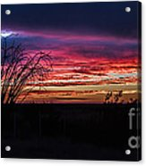 Southwest Sunset Acrylic Print