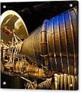 Space Rocket Thrust Engine Acrylic Print