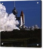 Space Shuttle Challenger  Acrylic Print by Retro Images Archive