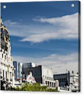 Spain, Madrid, Centro Area Acrylic Print