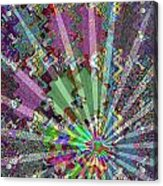 Sparkle Focus Graphic Chakra Mandala By Navinjoshi At Fineartamerica.com Fineart Posters N Pod Gifts Acrylic Print by Navin Joshi