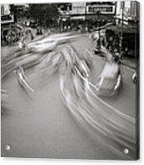 Swirling Motion Acrylic Print