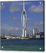 Spinnaker Tower Acrylic Print