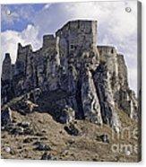 Spissky Hrad Castle Acrylic Print