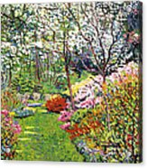 Spring Forest Vision Acrylic Print
