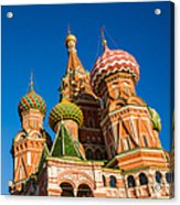 St. Basil's Cathedral - Square Acrylic Print