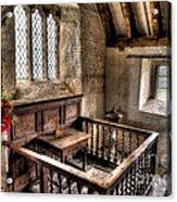 St Celynnin Church Acrylic Print