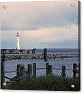 St. Ignace Light Acrylic Print