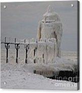 St Joseph Lighthouse - Lake Michigan Acrylic Print