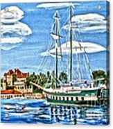 St Lawrence Waterway 1000 Islands Acrylic Print