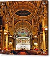 St. Leonard's Church....boston Acrylic Print