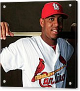 St. Louis Cardinals Photo Day Acrylic Print