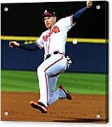 St. Louis Cardinals V Atlanta Braves Acrylic Print