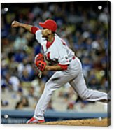St Louis Cardinals V Los Angeles Dodgers Acrylic Print