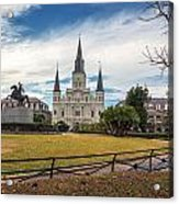 St. Louis Cathedral IIi Acrylic Print