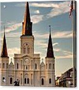 St. Louis Cathedral Va Acrylic Print