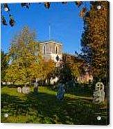 St Marys Church Kintbury Acrylic Print