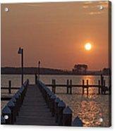 St Marys County Maryland Sunrise Acrylic Print