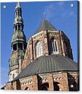 St. Peter's Church Riga Acrylic Print