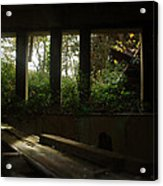 St. Peter's Seminary Acrylic Print by Peter Cassidy