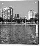 St Petersburg Skyline Acrylic Print